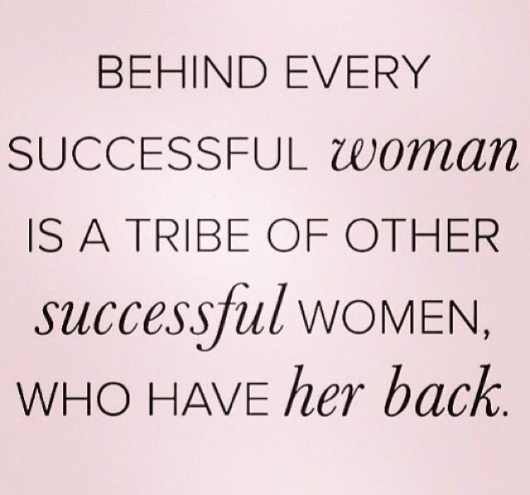 Successful women friendships