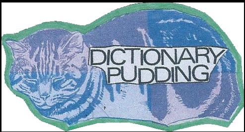 Image Source: Dictionarypudding.co.uk
