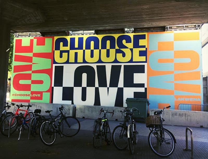 Choose Love_Southbank London