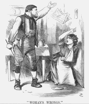 "London's ""Punch"" Magazine, 1874"