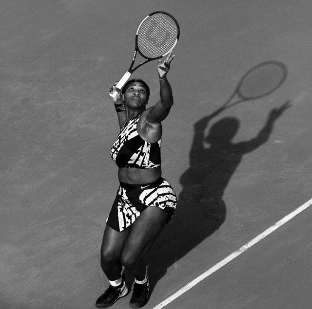 """I'm really exciting. I smile a lot, I win a lot, and I'm really sexy."" - Serena Williams #OhYesSheIs #NotSorry #OwningIt #SeriousShreo #BlackFeminism  @serenawilliams"