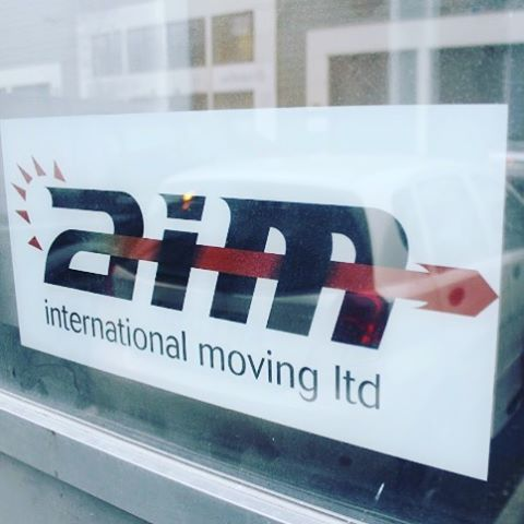 Our logo which you'll see all over our stuff, simple and consume. #entrepreneur #aim #movingcompany #movinghouse #movinghome #movingday