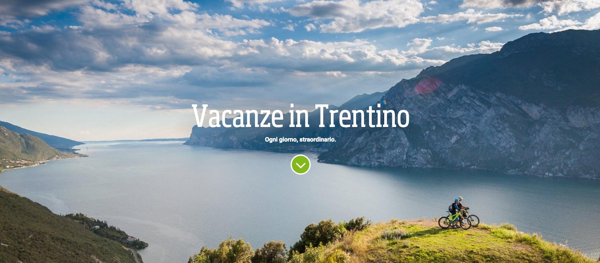 Il sito di  Visit Trentino
