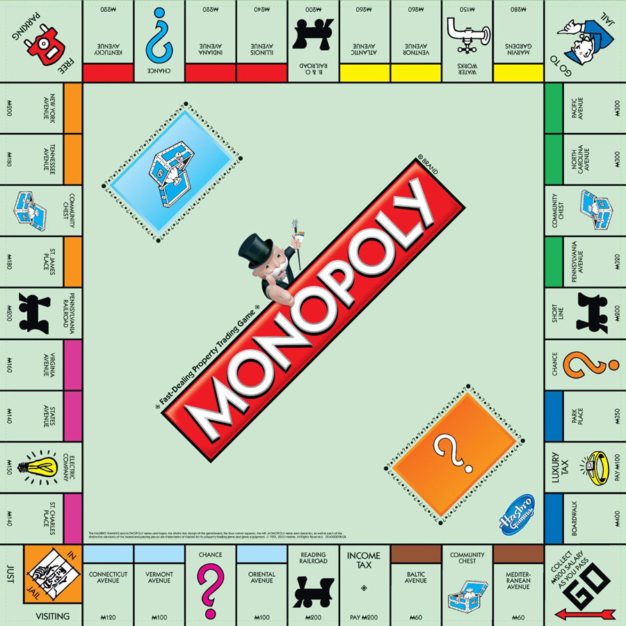 original-monopoly-board