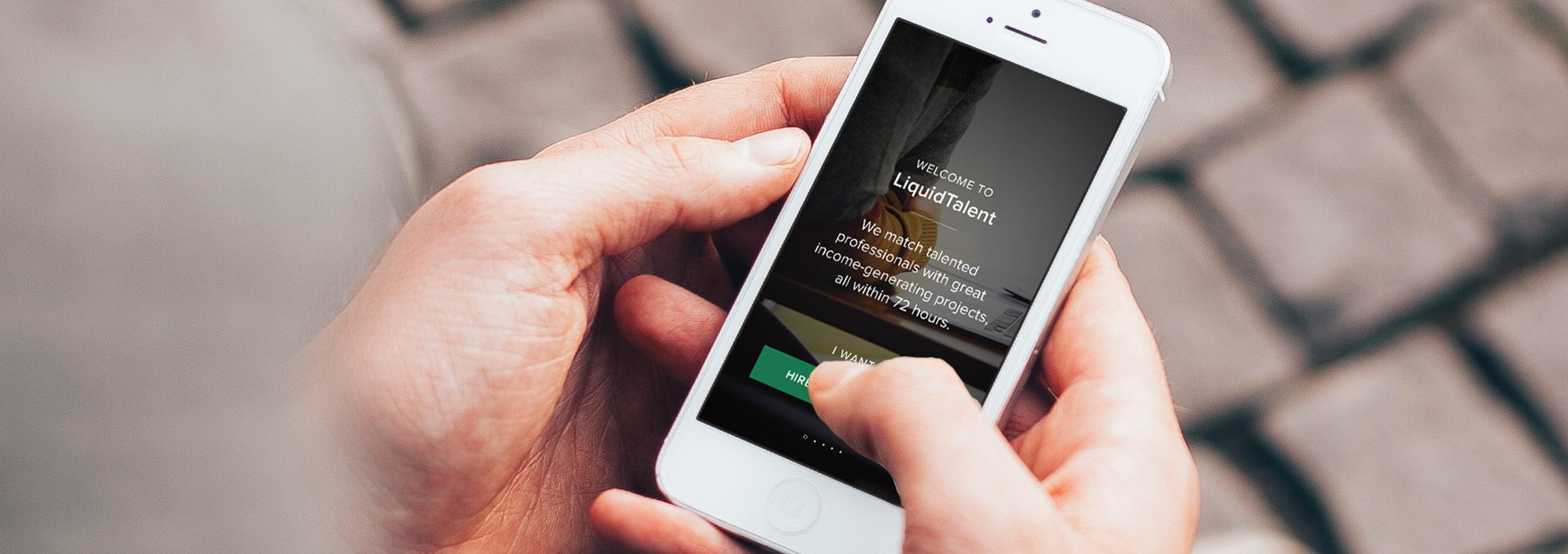 Liquid Talent - Product Strategy, Rebranding, UI/UX Design