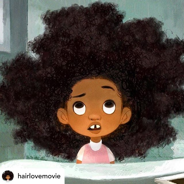 I was so inspired by the team on this project and felt so grateful to contribute a small bit of animation to the film.  Hair Love is in theaters now - playing in front of Angry Birds 2! Big congrats to the whole team at @sixpointharness on a beautiful film✨ * repost from @hairlovemovie *