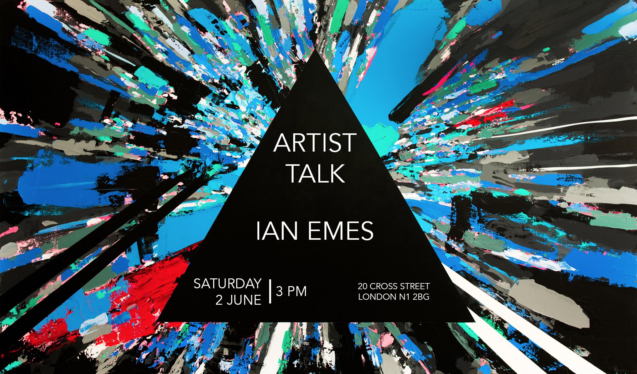 Artist Talk Ian Emes