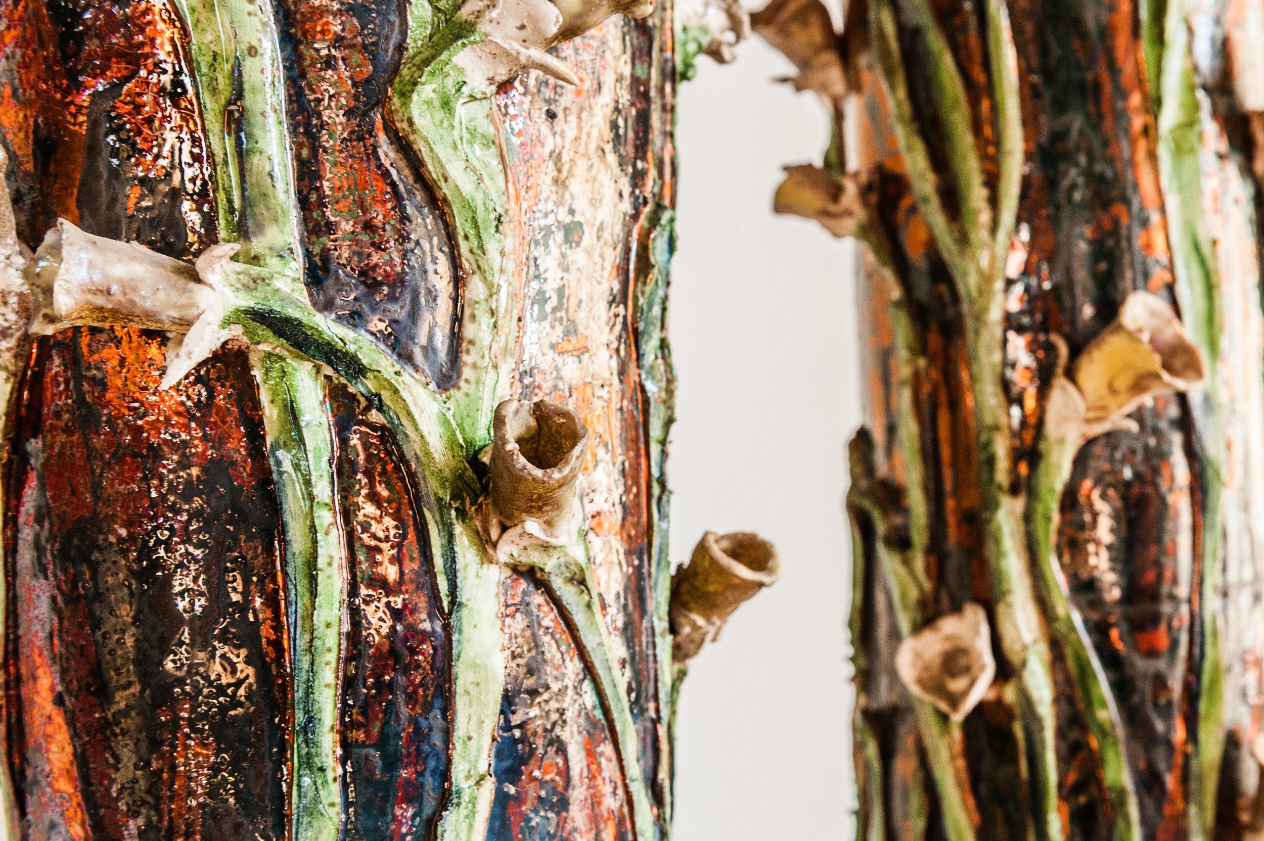 Paolo Staccioli, Vaso con fiori (Vase with Flowers), 1998 [Detail]