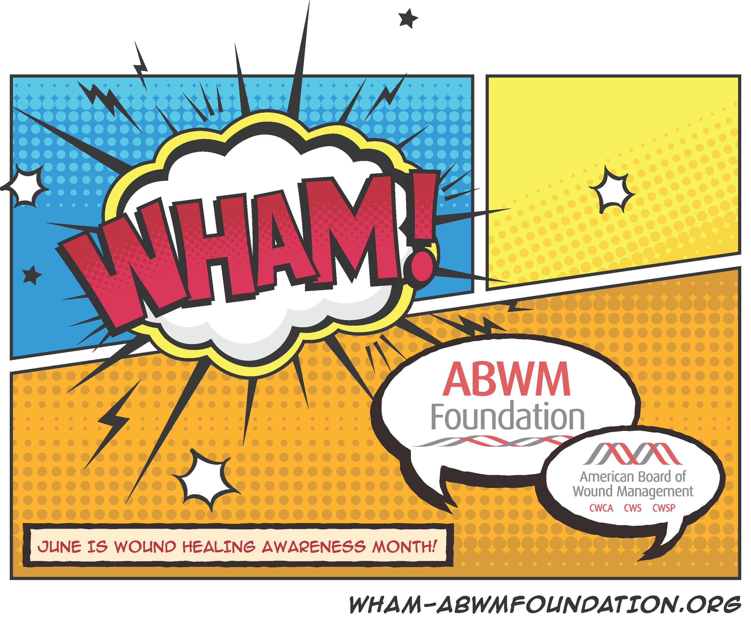 Download the full color WHAM! Logo