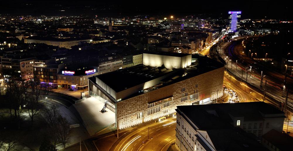 Musiktheater Linz, Terry Pawson, Architektur Consult