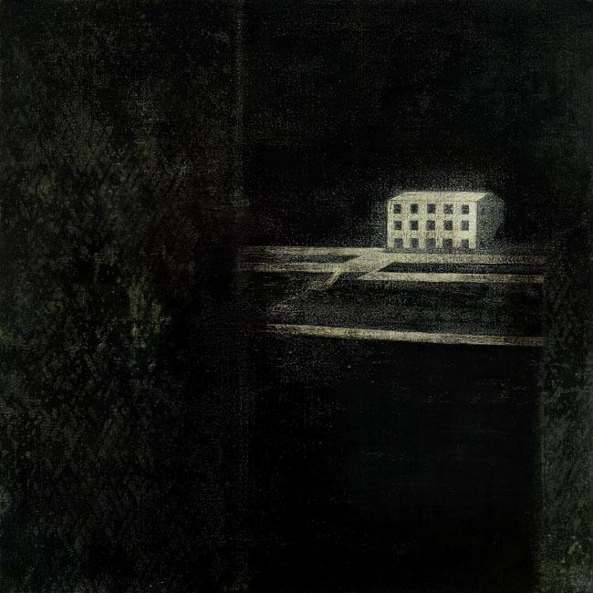 Somewhere Else    62 x 62 cm  Acrylic on canvas