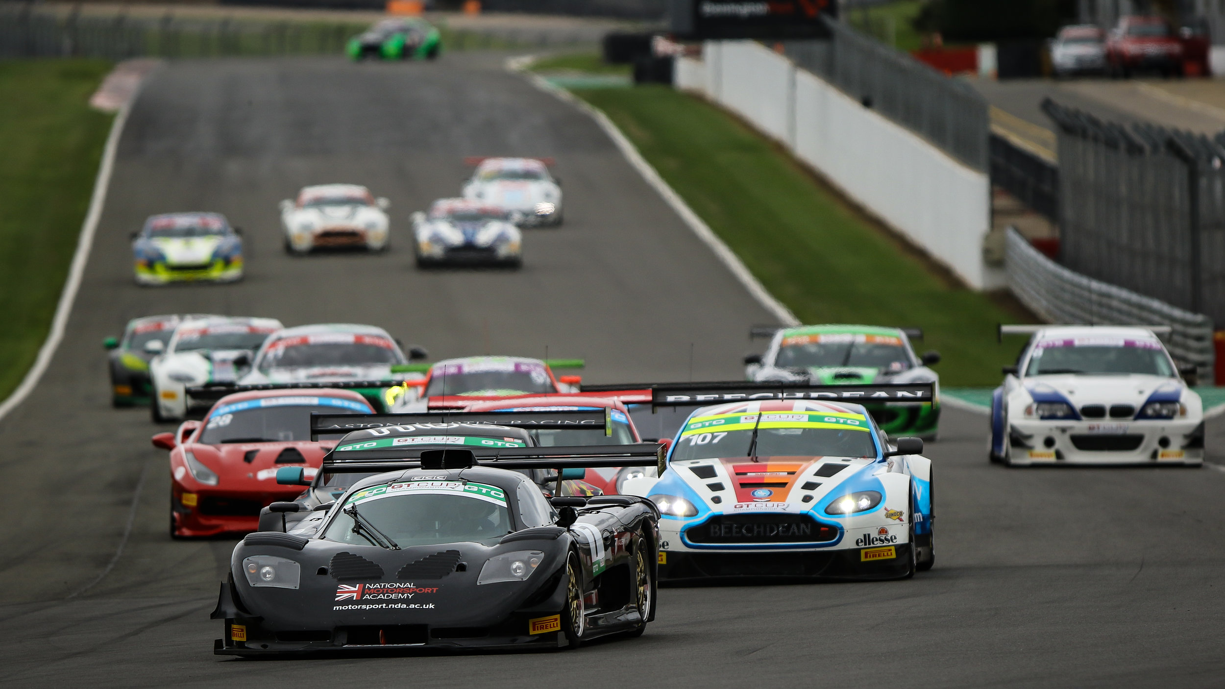 GT CUP - Donington Park Grand Prix Circuit 2018