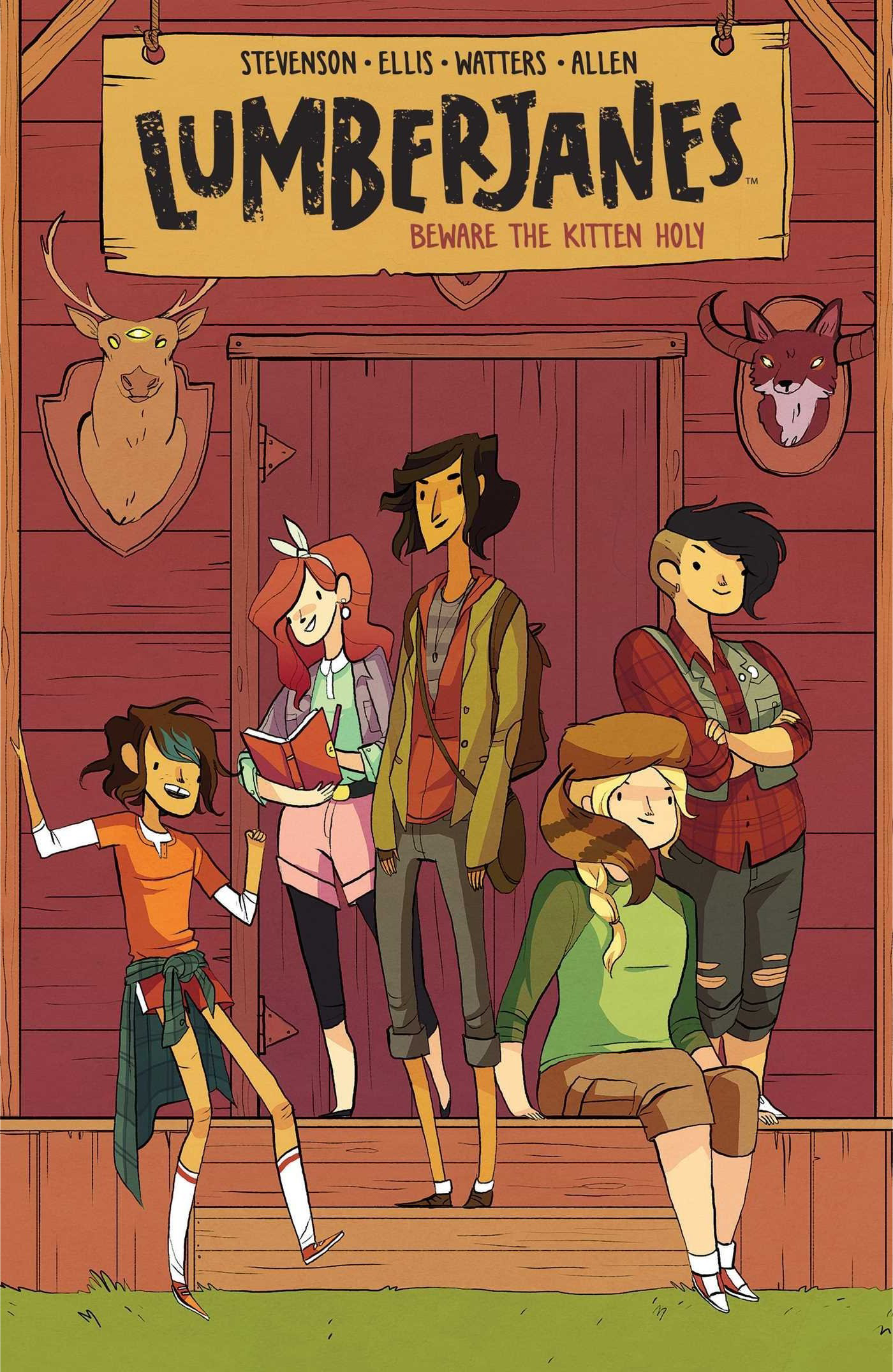 Lumberjanes   by Shannon Watters, Grace Ellis and Noelle Stevenson