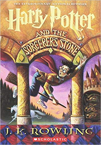 Harry Potter and the Sorcerers Stone,  by J. K. Rowling