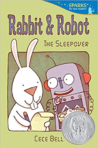 Rabbit and Robot: The Sleepover,  by Cece Bell
