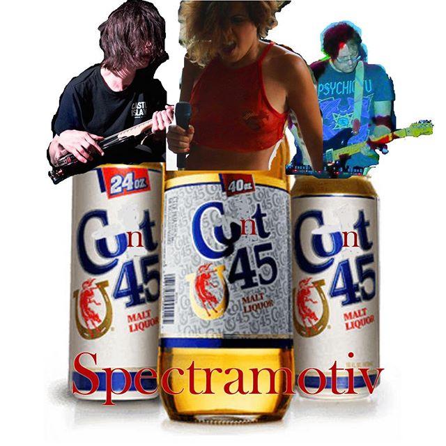 #Spectramotiv #Cunt45 out now:  https://spectramotiv.bandcamp.com/album/cunt-45