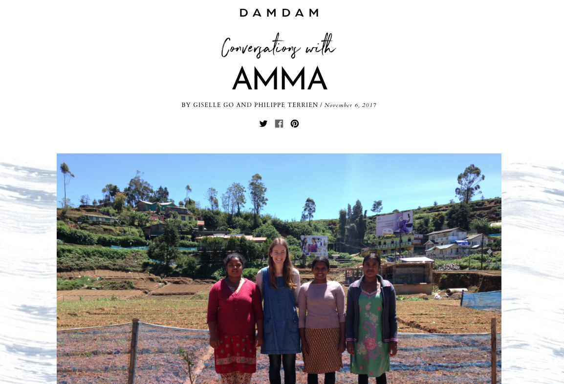 DAMDAM - DAMDAM are a Tokyo based cosmetics company that focus on developing organic & 100% natural skincare. AMMA collaborated with DAMDAM on a naturally dyed bag & pouch line for their press launch.In the following blog they talk to AMMA founder Josie about the process of natural dyeing and starting a social enterprise.