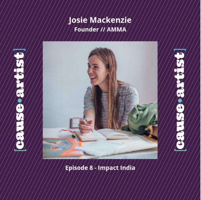 Sept 2019: Cause Artist Podcast - Jazzmine Raine interviewed AMMA Founder, Josie for episode 8 of the Impact India podcast. With a focus on the fashion industry, life on Sri Lanka's tea estates and AMMAs training program.