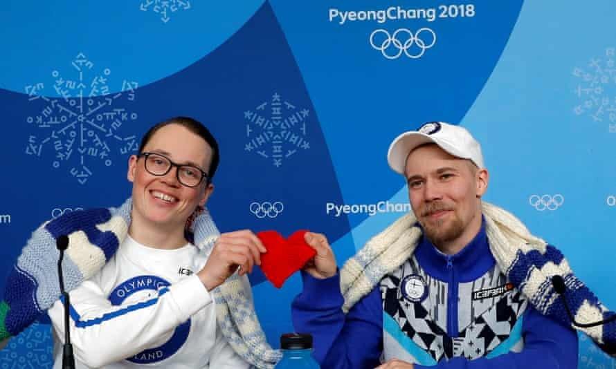 Finnish Olympic Team Knitting