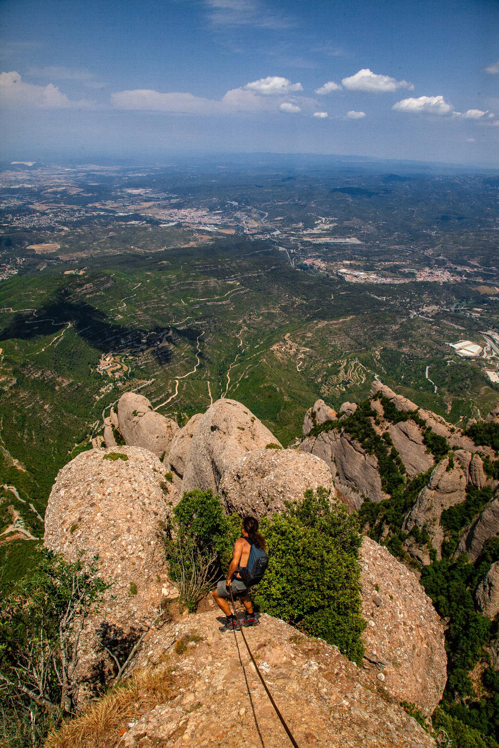 Montserrat Mountain Top - Alejandro Lorenzo