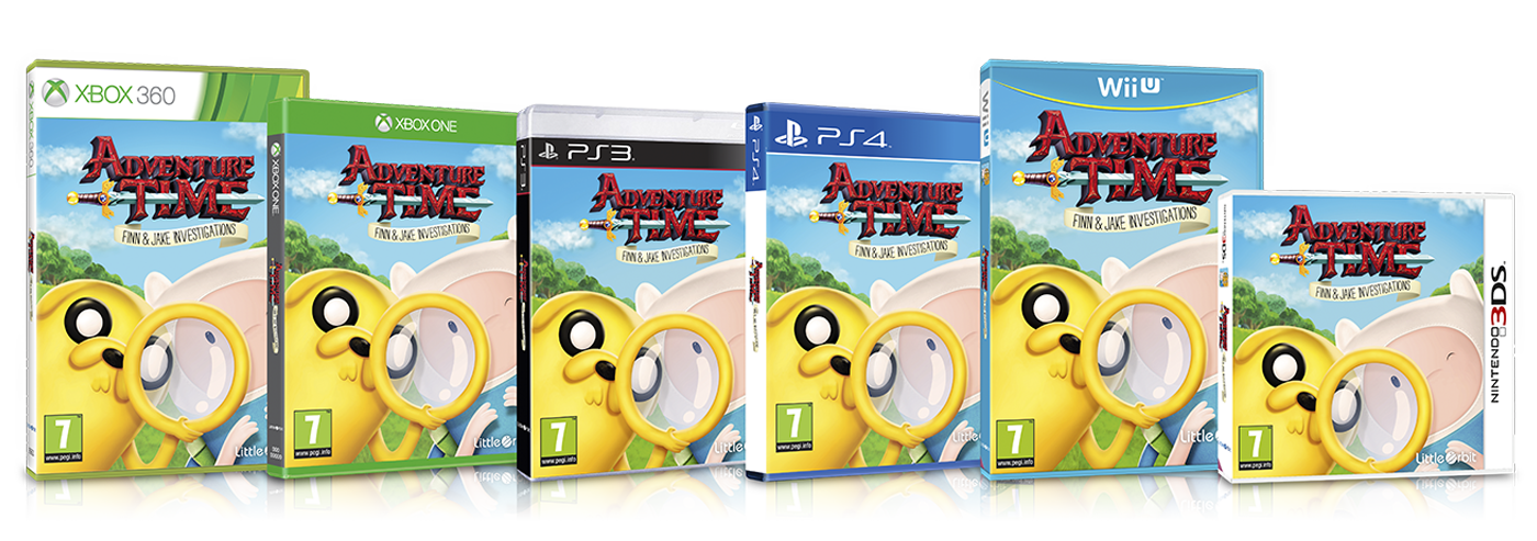 Outright Games Adventure Time