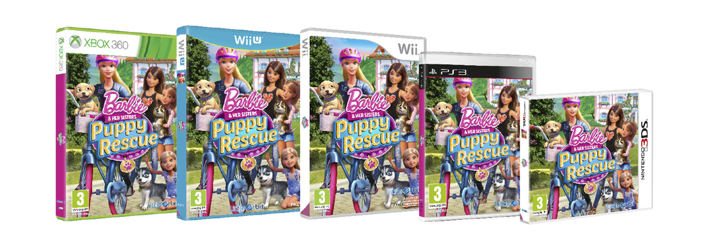 Outright Games Barbie game