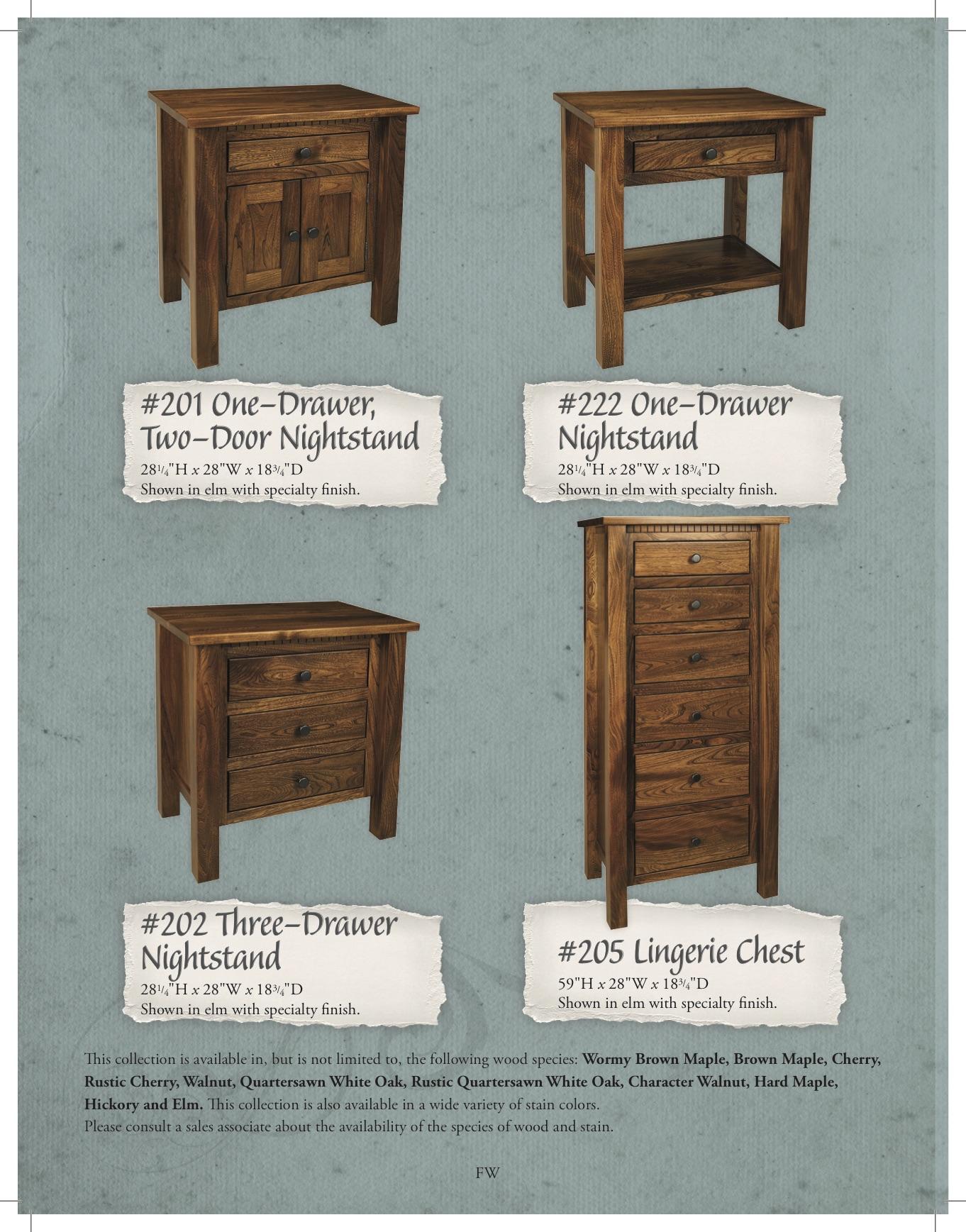 Amish Built Oak Furniture East Coast