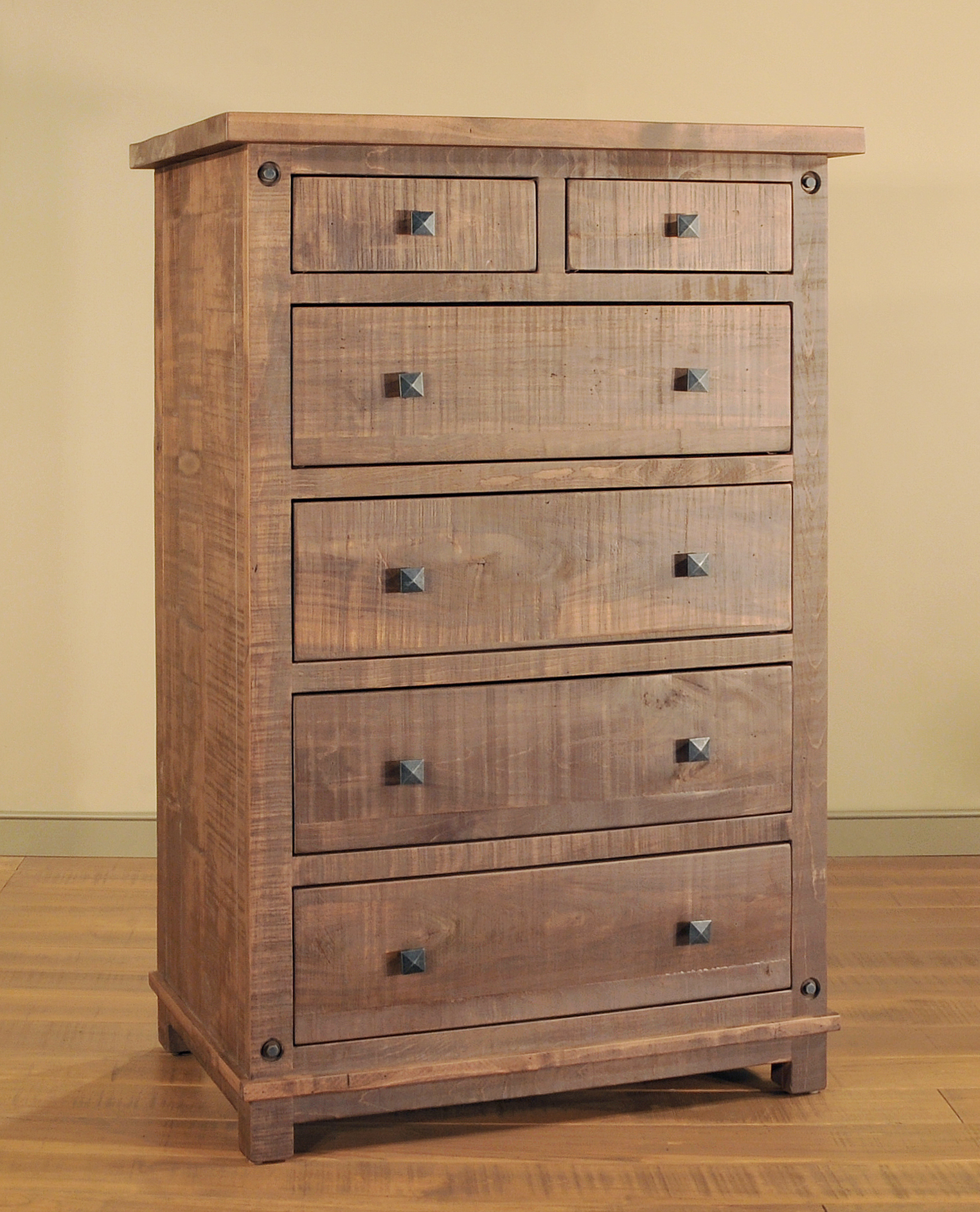 handcrafted chest