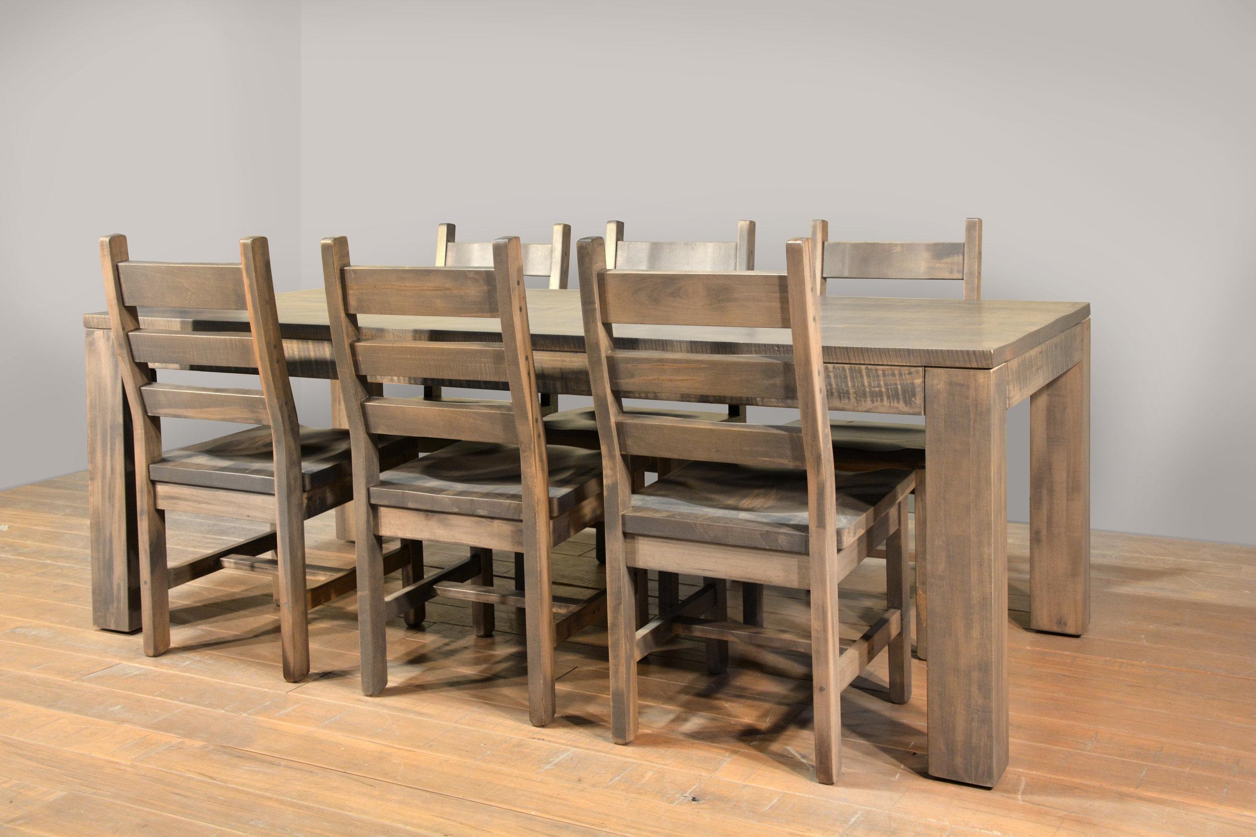 Rustic heidelburg dining set