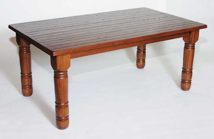 Hand planed table
