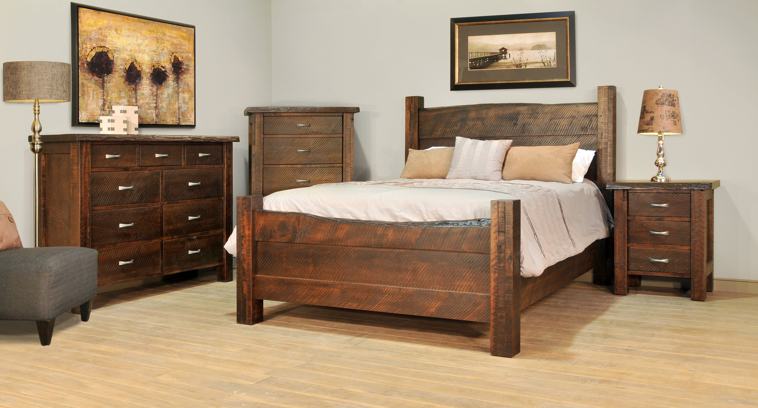 wooden bedsteads for master bedrooms for sale in Struthers, Ohio