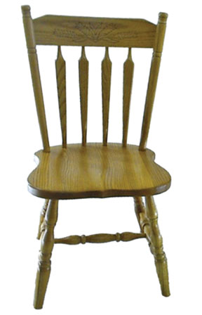 10c colonial side chair