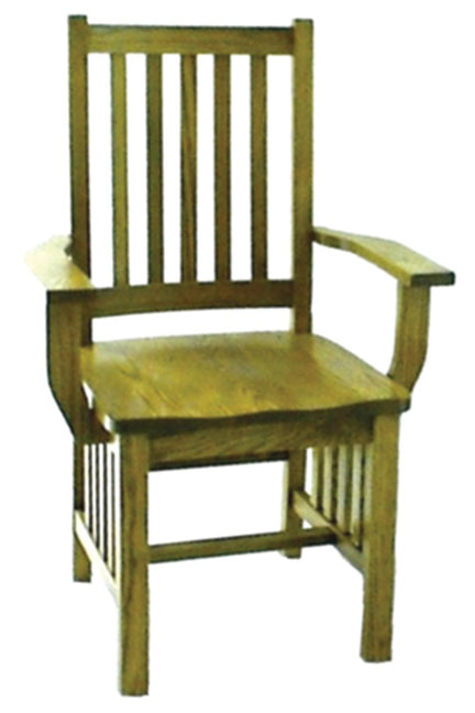 13c mission arm chair