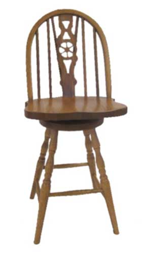 28c slot fiddle bar stool