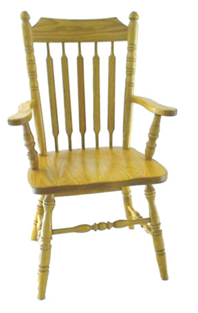 30c cattail arm chair