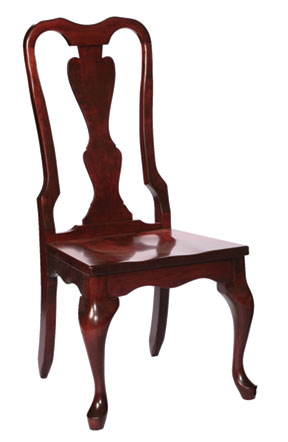 110c victorian queen anne side chair