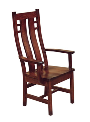 cascade arm chair