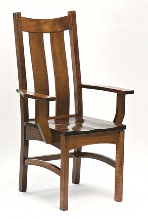 country shaker arm chair