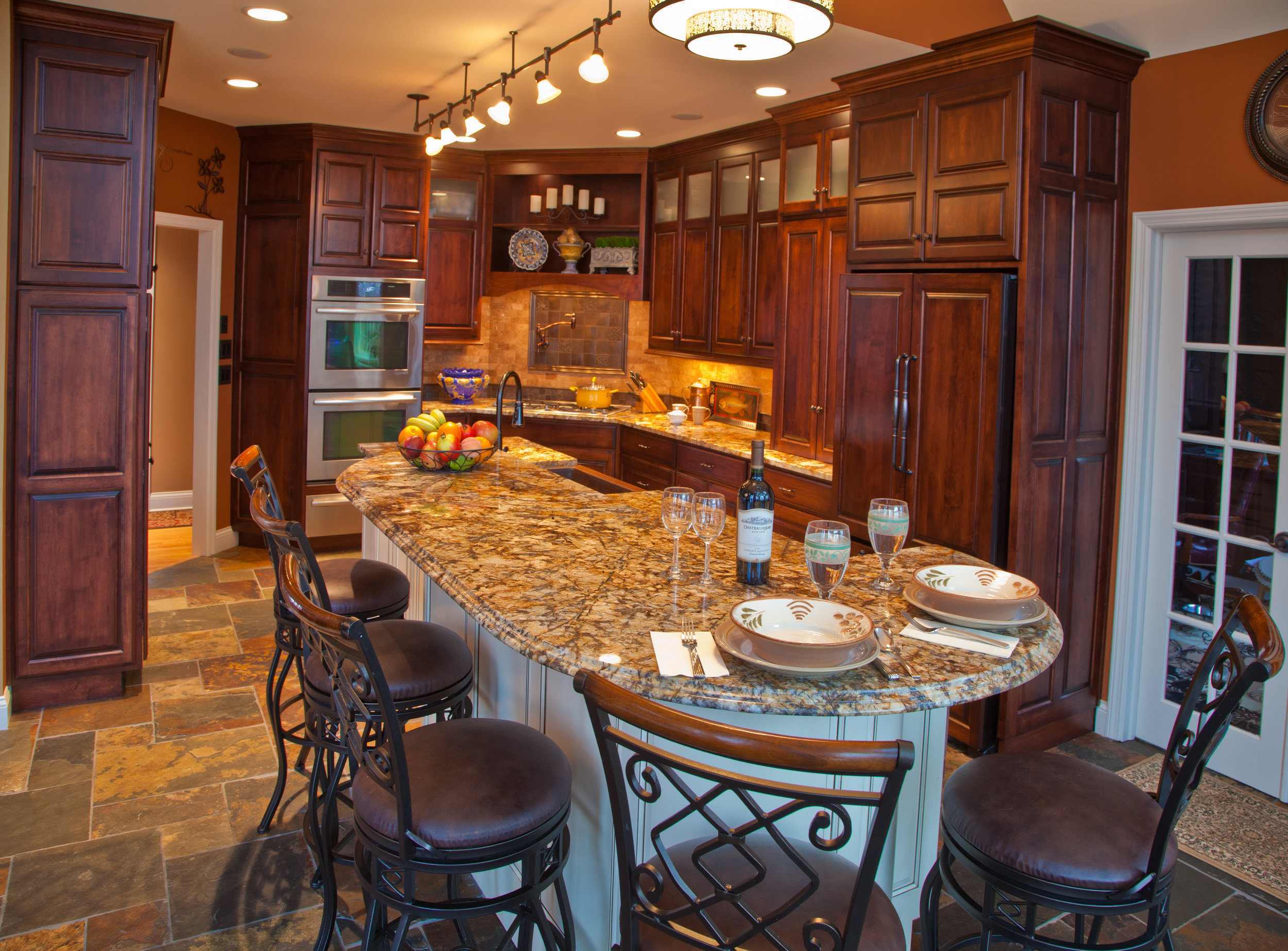 luxury made cabinets