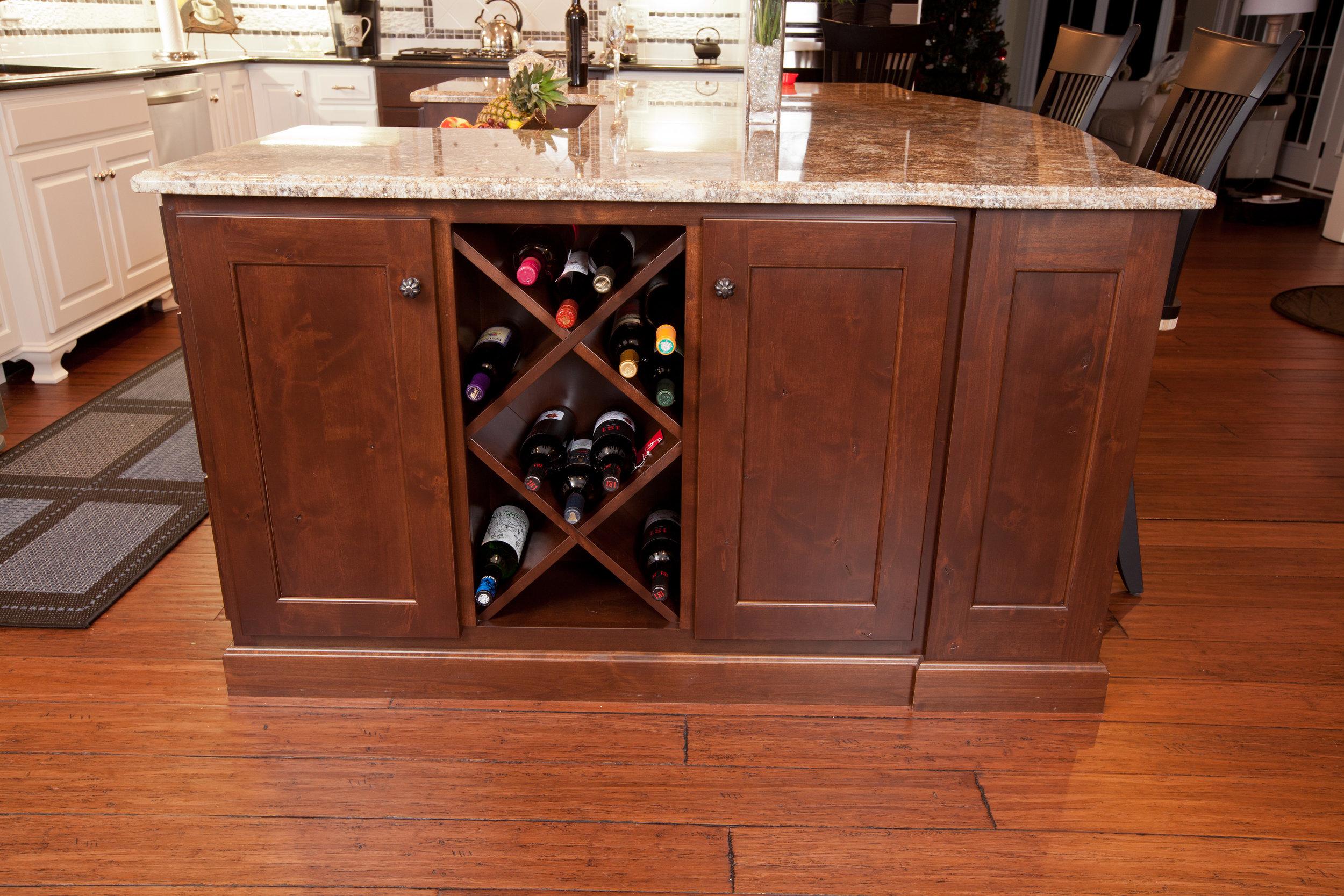 beautiful wine cabinets