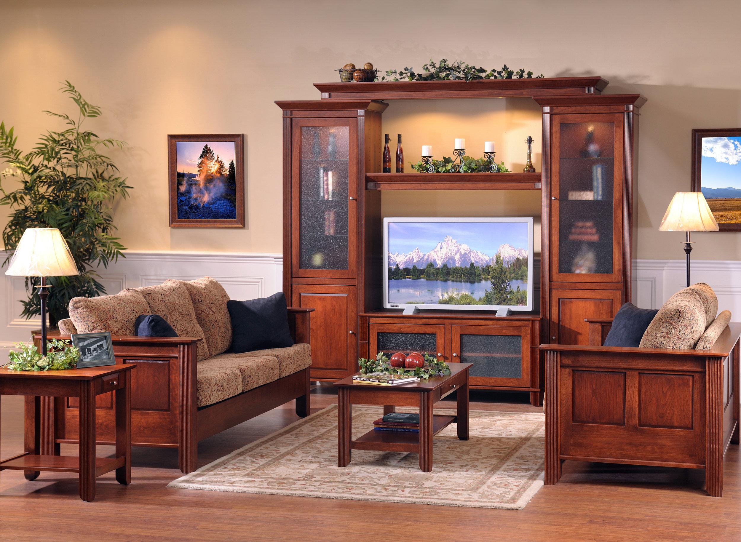 Sofa furniture near Lake Erie