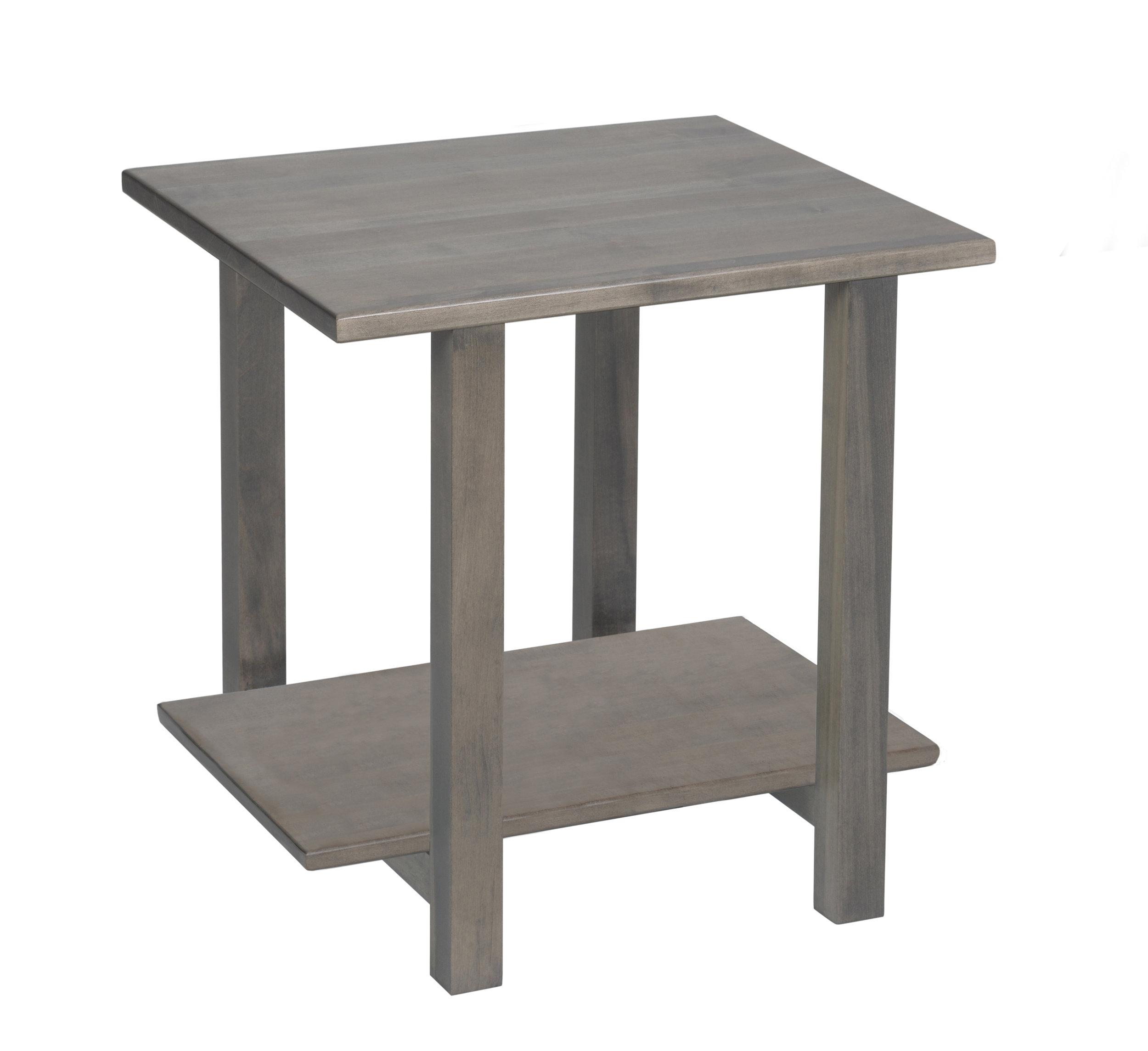hilton wood end table