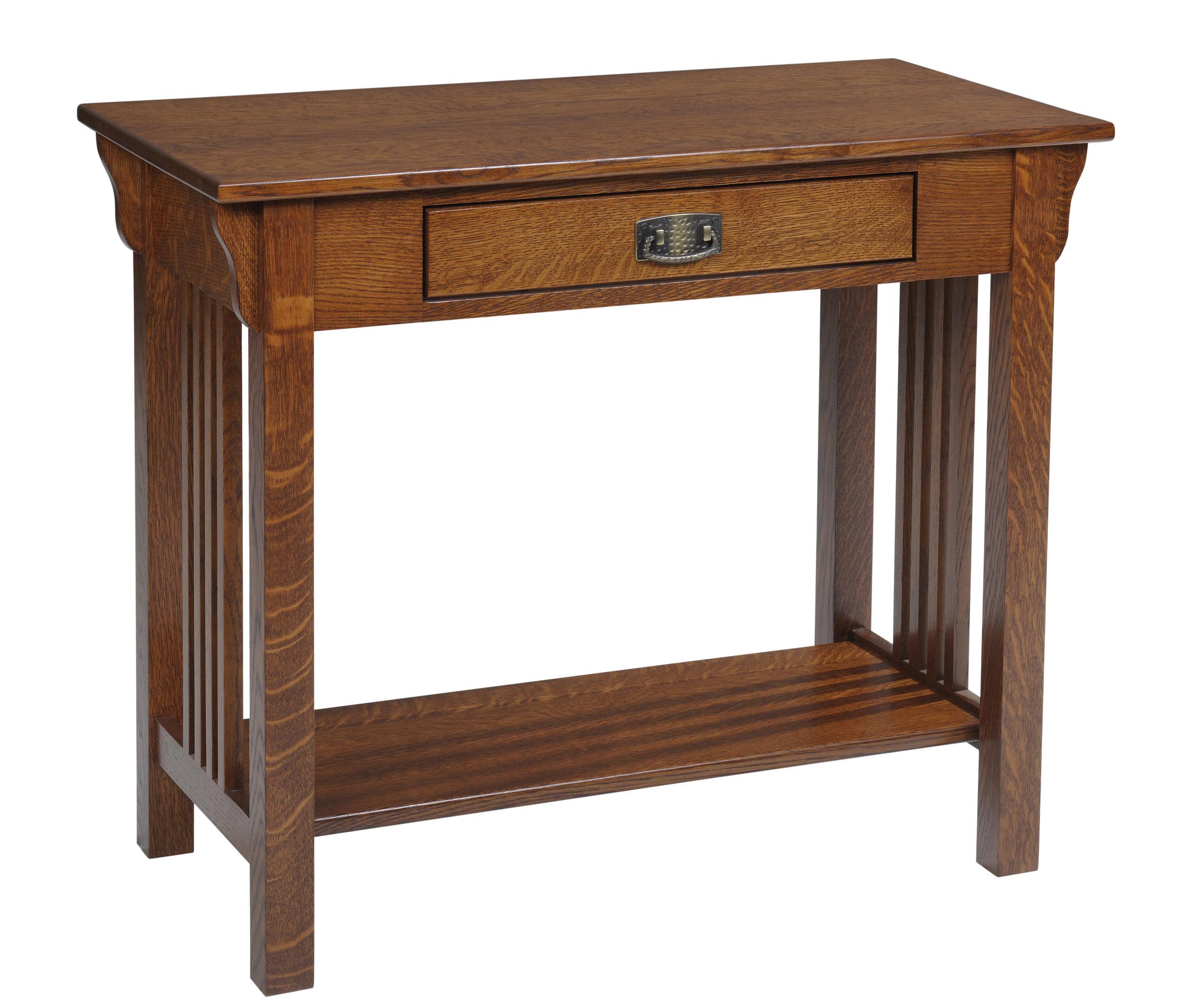 lexington mission sofa table