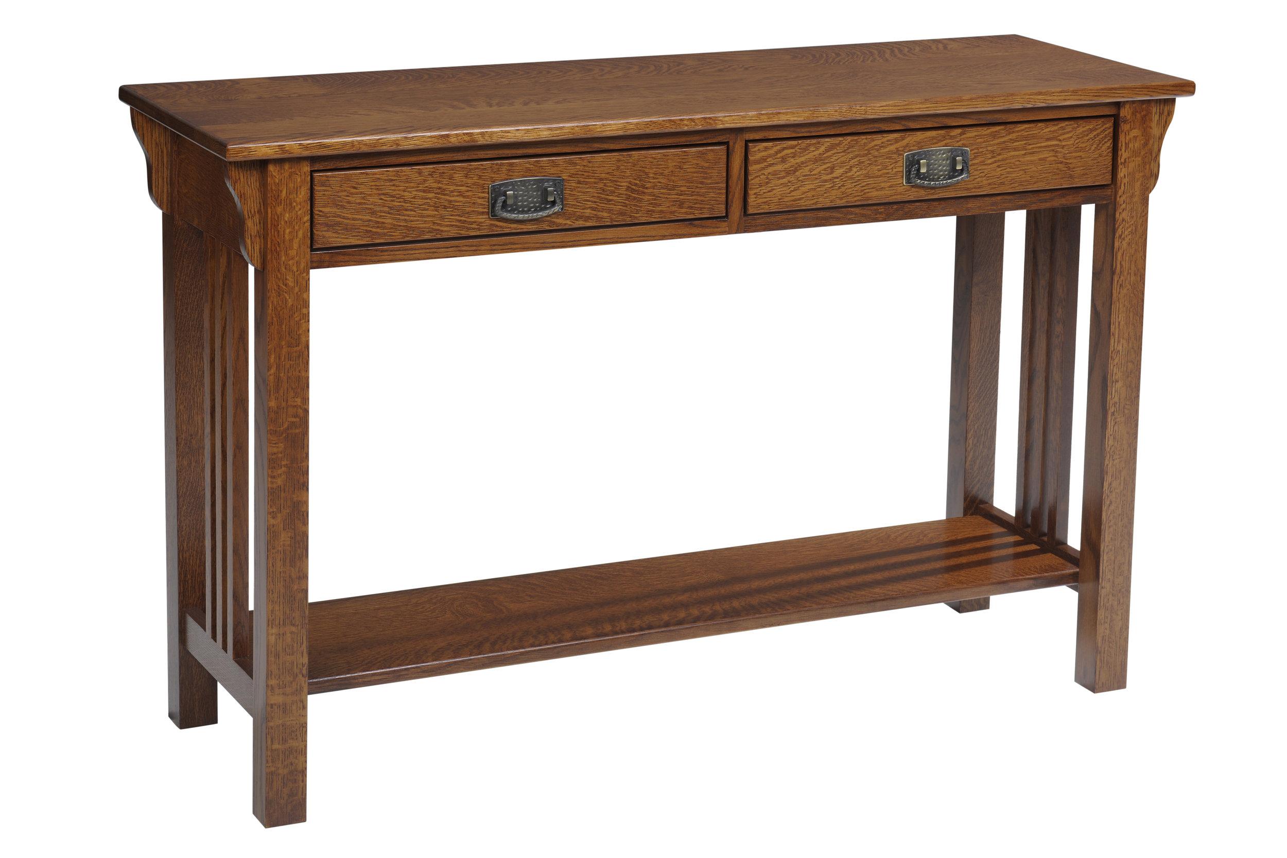 lexington mission hall table
