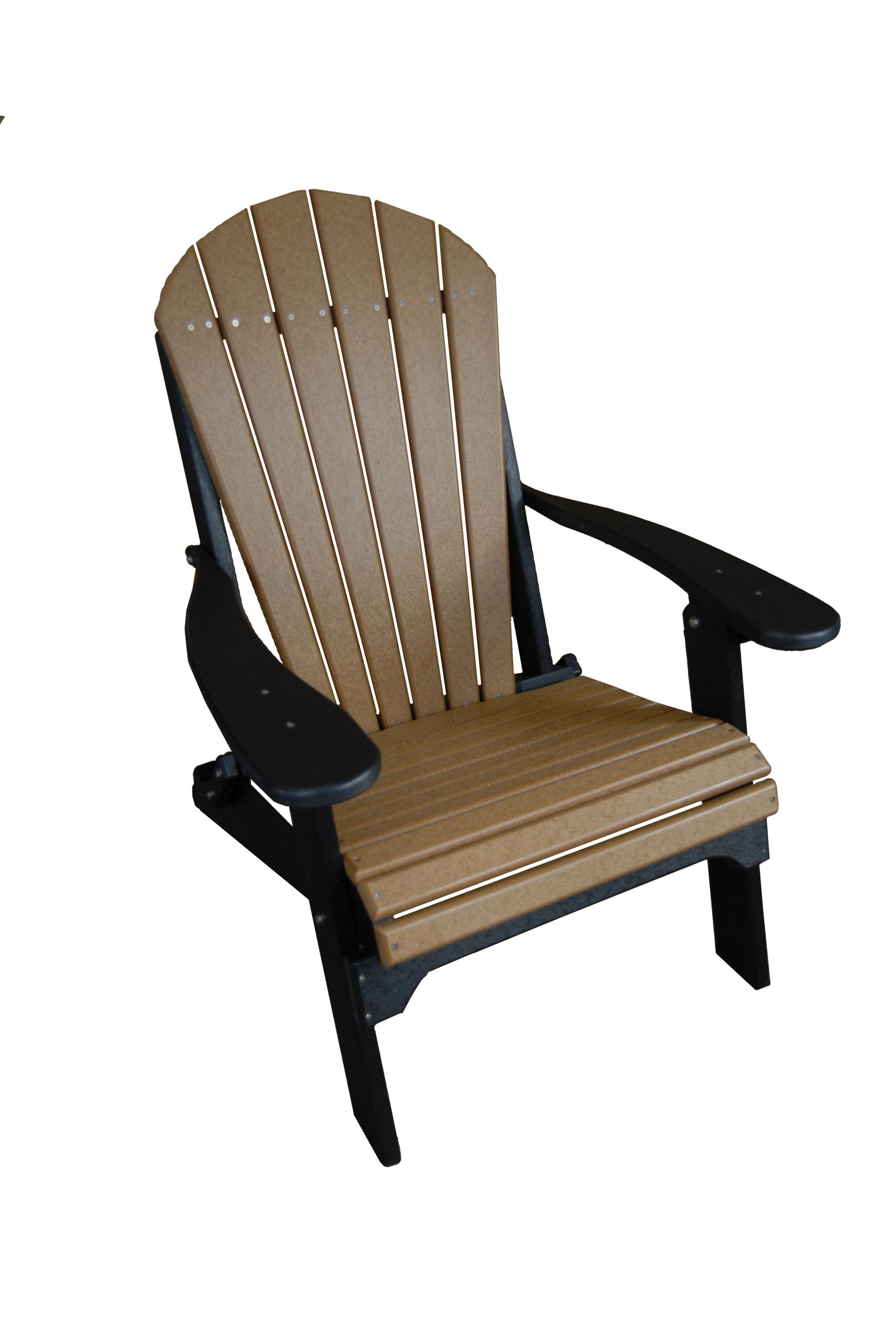 folding chair fan back