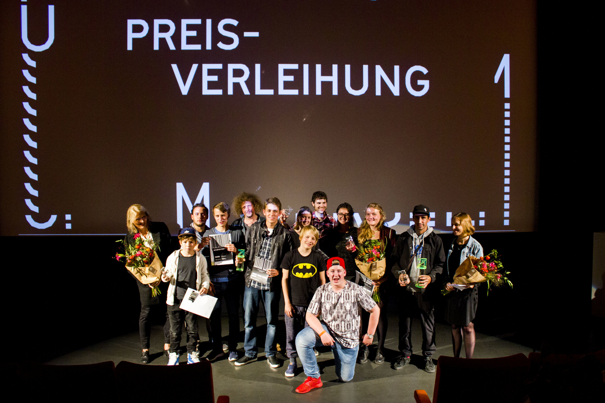 Alle GewinnerInnen des UPCOMING FILM MAKERS 2016