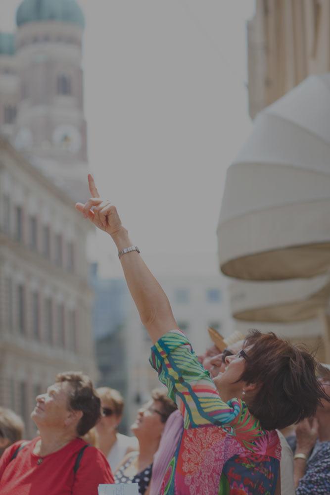 Führungen für Gruppen - Bis 25 PersonenZwei Stunden ab 150 Euro