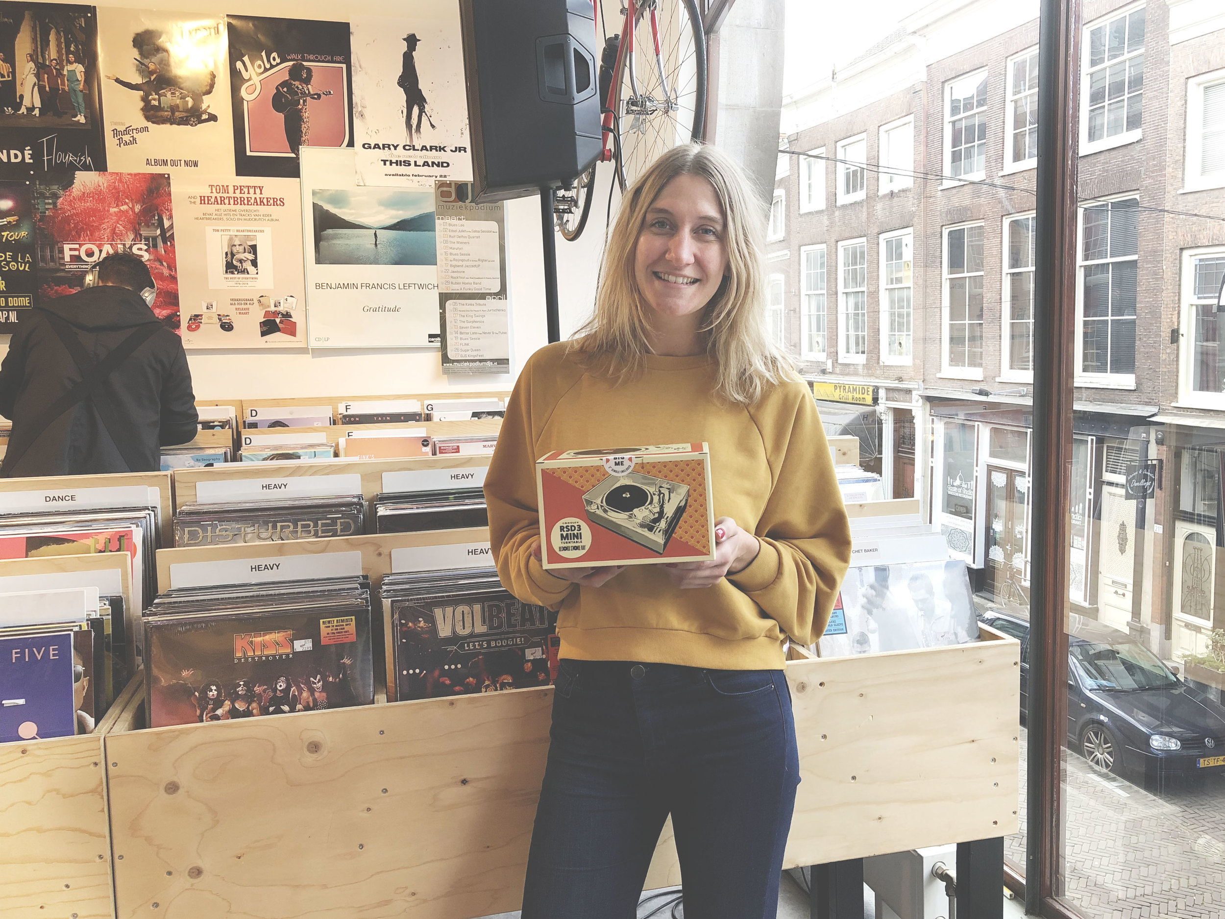 Eline RSD3 Crosley record player