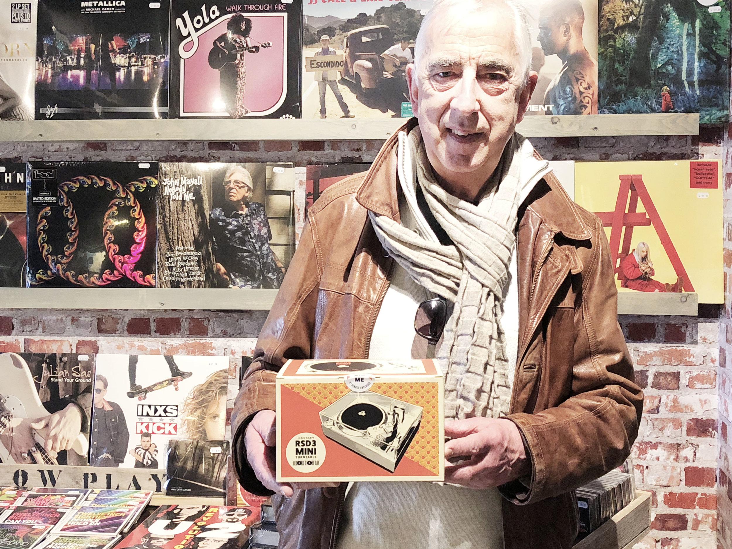 Thomas RSD3 Crosley  record player