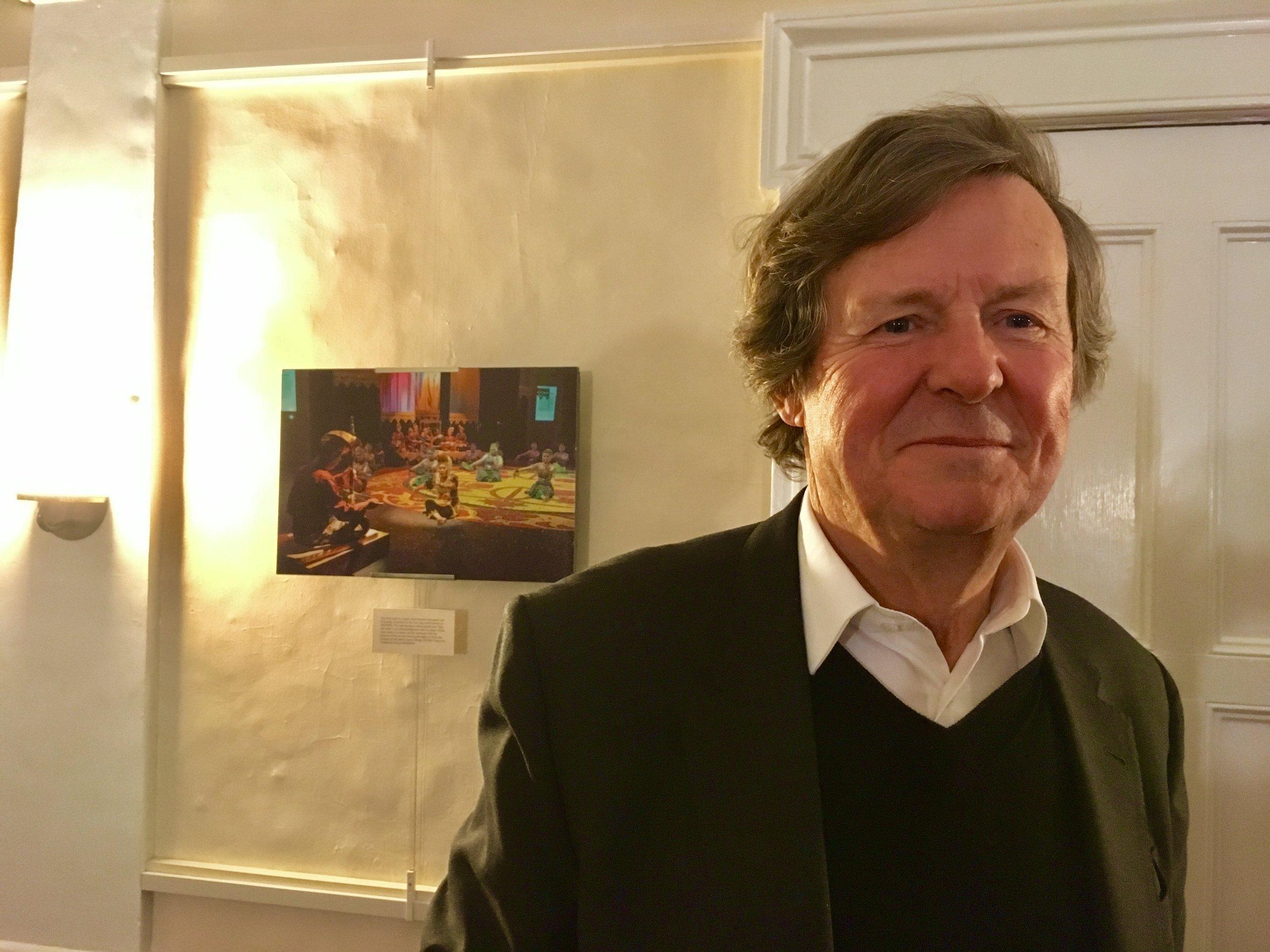 Playwright David Hare